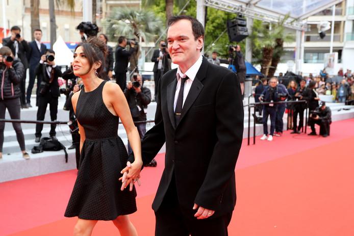 Quentin Tarantino and Daniella Pick