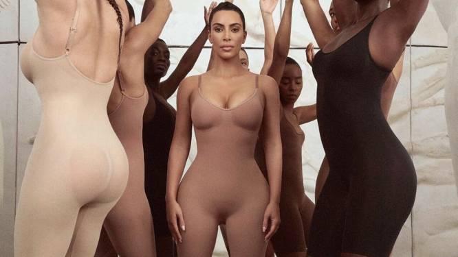 """Kim Kardashian alweer onder vuur voor gefotoshopt lichaam. Lingerie-ontwerpster Murielle Scherre: """"Laat ons niet boos zijn, maar slimmer"""""""
