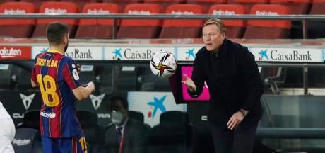 Koeman heeft toekomst bij FC Barcelona niet in eigen hand: 'Ik concentreer me op de wedstrijden'