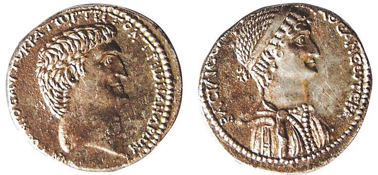 Munten uit Syrië (539 v. Chr.) Beeld ICOM