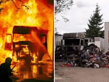 Buurt helpt aan vuurzee ontsnapte vrachtwagenchauffeur: 'Zijn gezicht en handen waren verbrand'