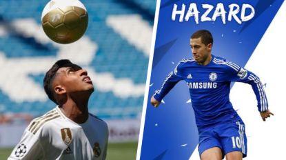 """Braziliaan van 45 miljoen euro op voorstelling Real: """"Hazard had ik als wallpaper op mijn gsm"""""""