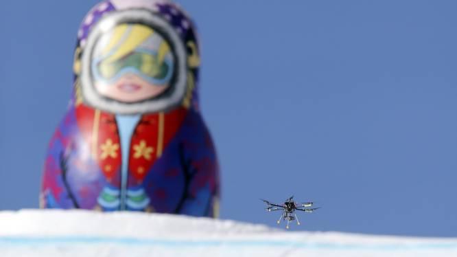 IOC gebruikt voor het eerst drone om skiërs in beeld te brengen