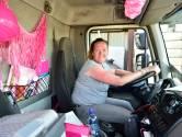 Rachels coronalied was een hit, maar ze zit liever op haar vrachtwagen: 'Dan brul ik lekker met de muziek mee'