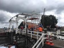 Ophaalbrug Harderwijk weer open, eh, dicht