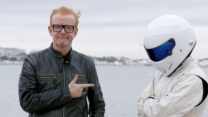 Chris Evans en zijn mysterieuze(ex-)collega The Stig