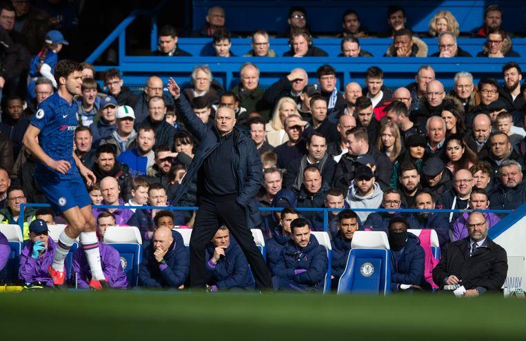 José Mourinho  Beeld Getty Images