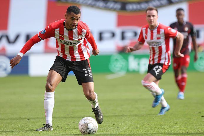 Cody Gakpo is weer een van de speerpunten van PSV nadat hij zijn blessure heeft overwonnen.