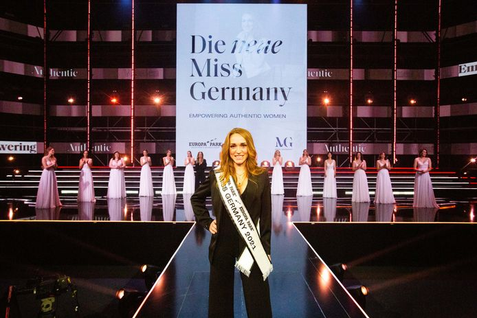 Anja Kallenbach (33) Miss Germany 2021.