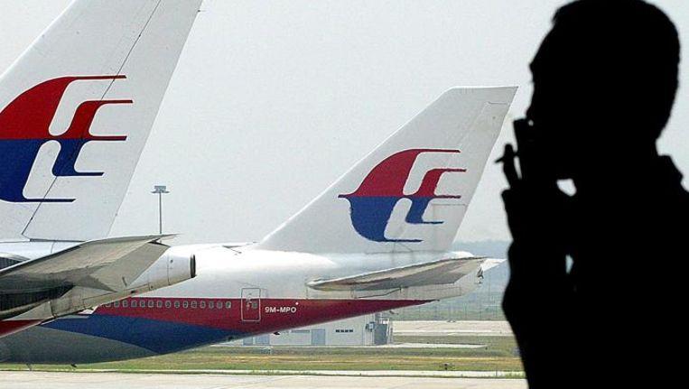 Toestellen van Malaysia Airlines Beeld null
