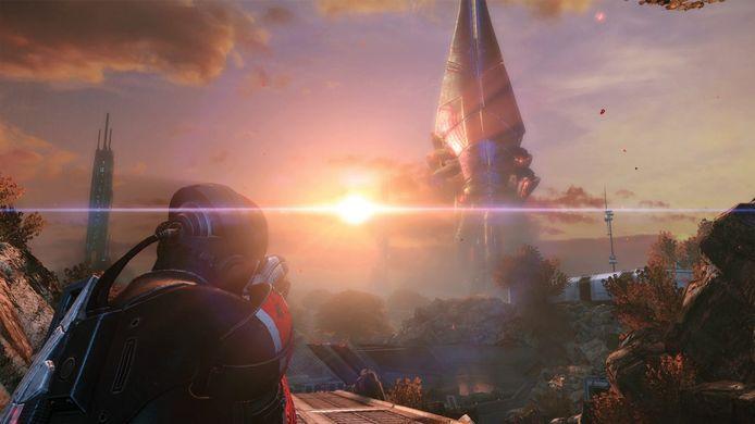 De graphics zijn flink bijgespijkerd, maar het is vooral een prettig weerzien met de wereld van 'Mass Effect'.