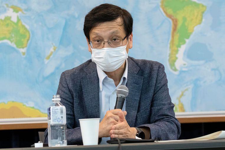 De Japanse viroloog Hitoshi Oshitani Beeld ZUMA Press