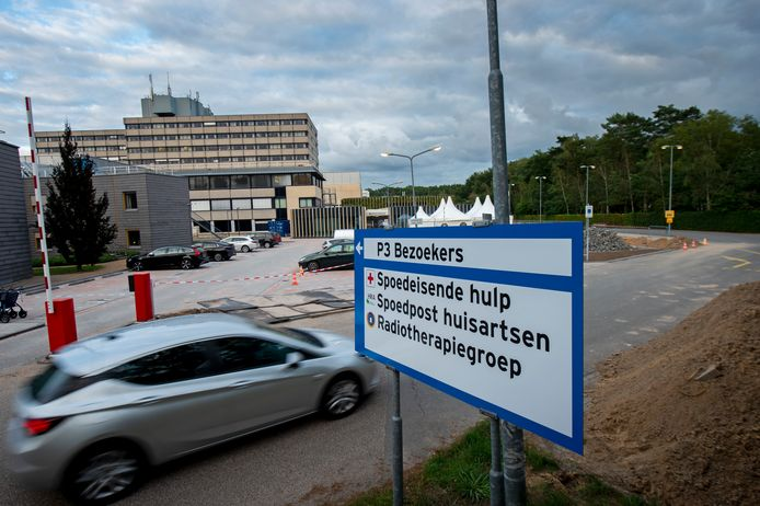 Ter illustratie: de Huisartsenpost bij het Gelre Ziekenhuis in Apeldoorn, aangeduid als Spoedpost huisartsen.