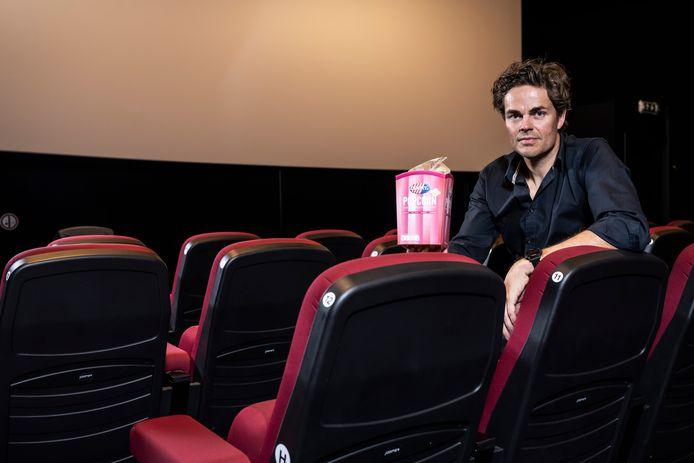 """Voor Philip Cleynens  komt de heropening van de bioscopen geen dag te vroeg.  """"Veel mensen kunnen nu weer genieten van"""