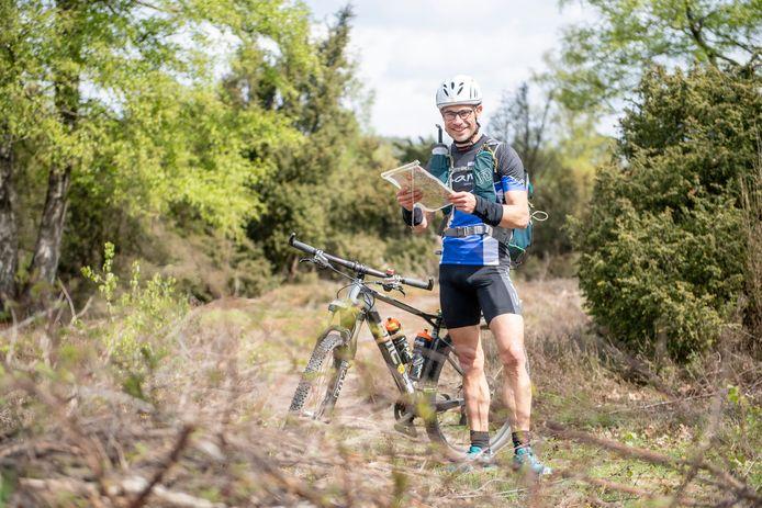 Arjen van der Berg verzorgt een internationale Adventure Race in Nederland.