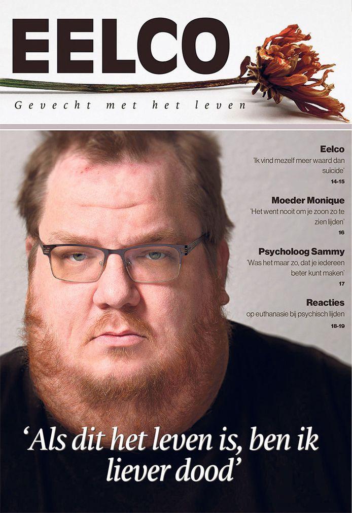 Een jaar geleden maakte Eelco de Gooijer in het Brabants Dagblad bekend dat hij uit het leven wilde stappen.