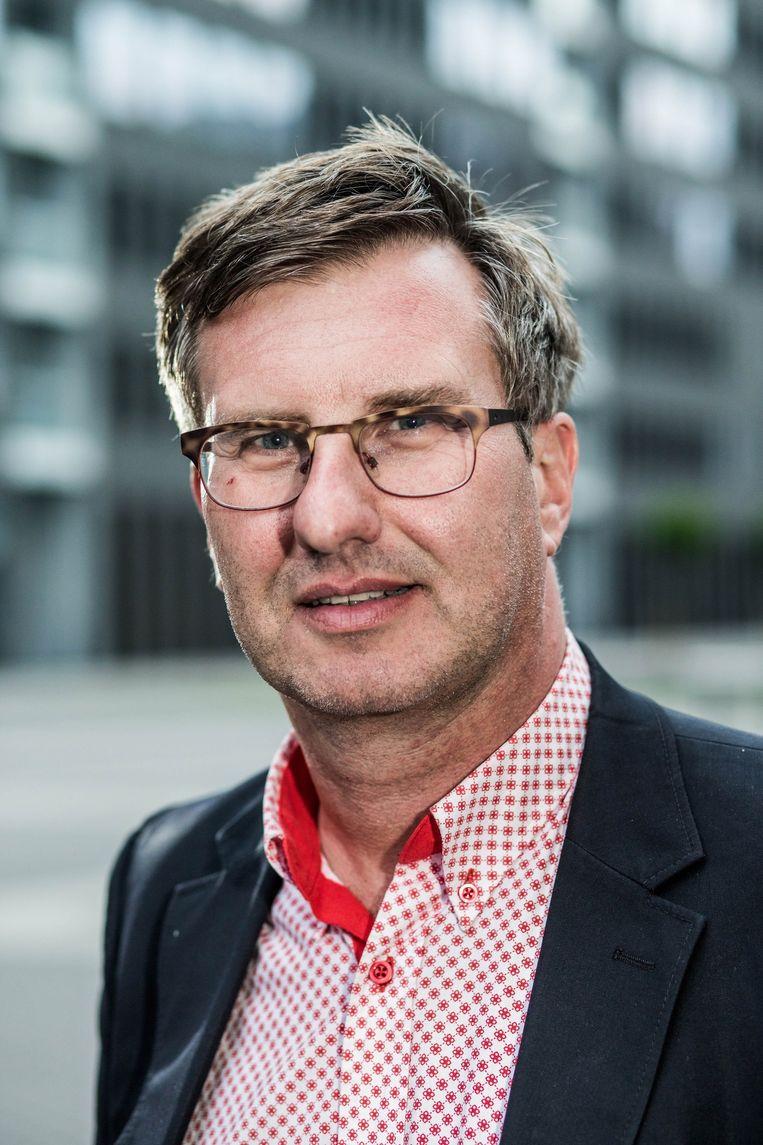 Regisseur Jan Verheyen: 'Moeten we nog films maken waar niemand naartoe komt?' Beeld VTM