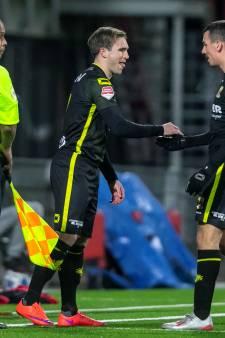GA Eagles-aanvaller Berden vindt voetbalgeluk in Oss na half jaar blessureleed: 'Heb het best zwaar gehad'