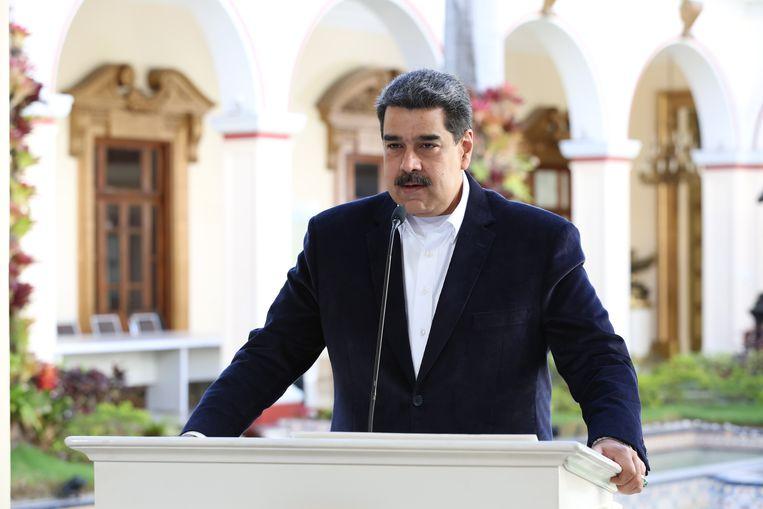 Nicolás Maduro. Beeld AFP