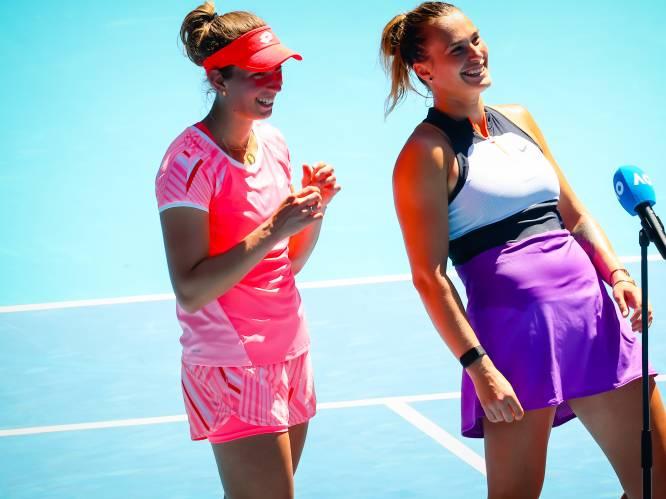 """Afscheid met grandslamzege en nummer één-ranking? Mertens en Sabalenka staan in dubbelfinale voor hun Last Dance: """"Focussen op het enkelspel"""""""