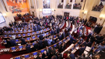 Voormalige FARC-rebellen nemen plaats in Colombiaans parlement