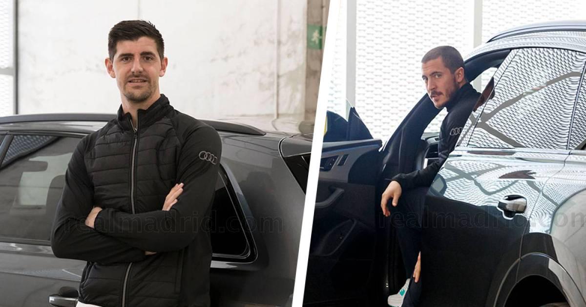 Nouveaux bolides pour Eden Hazard, Thibaut Courtois et les stars du Real - 7sur7