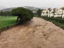 Extreme regenval in zuiden van Spanje