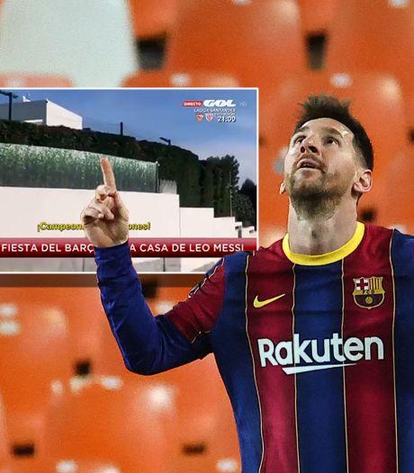 FC Barcelona moet vrezen voor straf na barbecue bij huize Messi