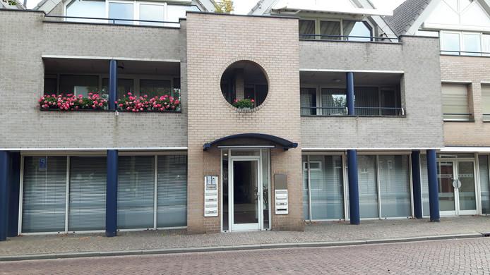 Het Lindeindcomplex aan de J. Lenartzstraat in Oisterwijk.