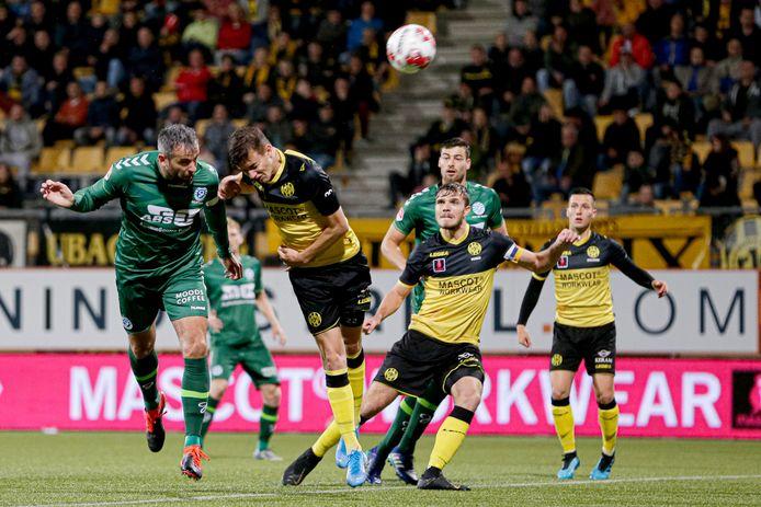 De Graafschap tegen Roda JC.