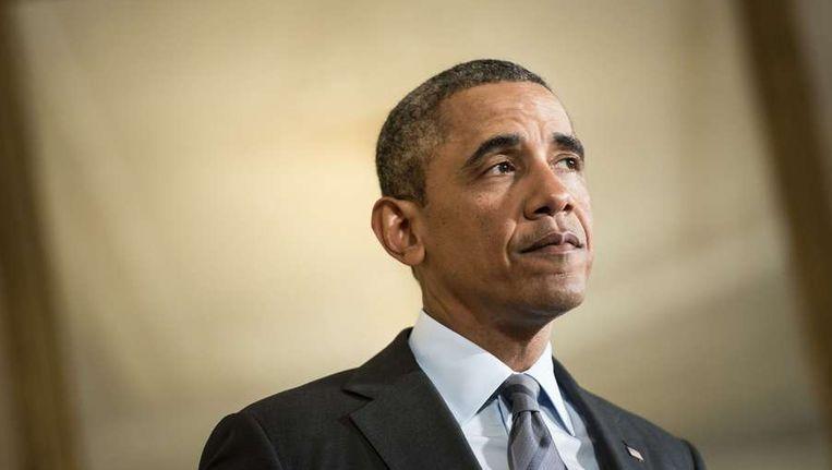 Barack Obama, president van de Verenigde Staten. Beeld afp