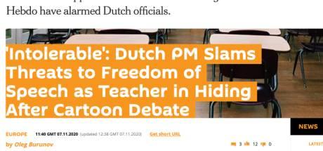 Bedreigde leraar Emmauscollege is wereldnieuws: van The New York Times tot Sputnik News