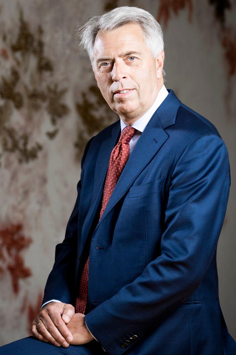 Peter Blom, CEO van Triodos Bank Beeld Freek van den Bergh