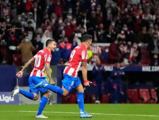 Atlético, met invaller Carrasco, sleept ondanks 0-2-achterstand nog punt uit de brand tegen Real Sociedad