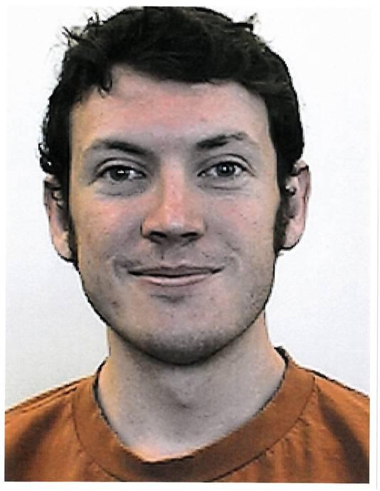 De foto van James Holmes, zoals deze verspreid wordt door de politie.