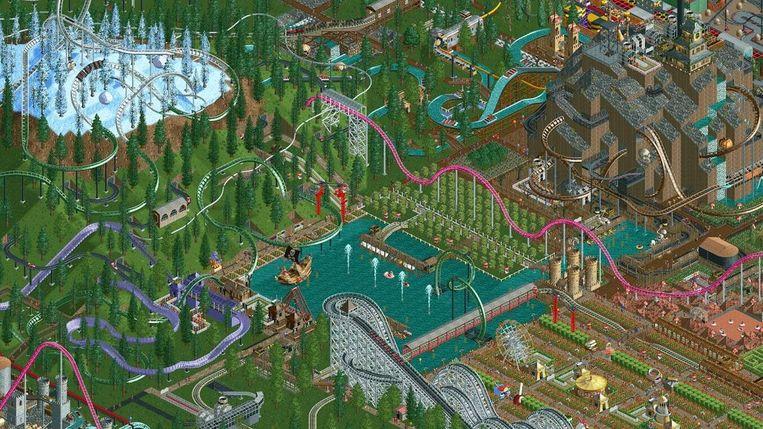 Roller Coaster Tycoon 2 Beeld Hasbro