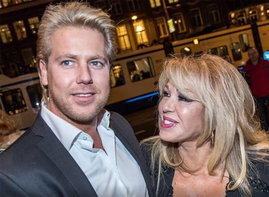 Patricia met Robbert Hinfelaar: haar echtgenoot sinds medio januari 2017.