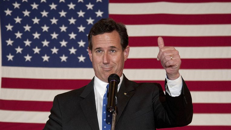Rick Santorum. Beeld GETTY