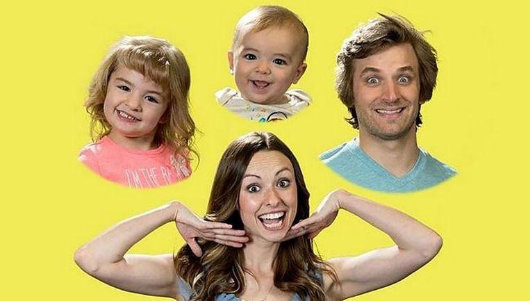 Het (YouTube)beeld van het perfecte gezinnetje ligt nu wel in scherven.