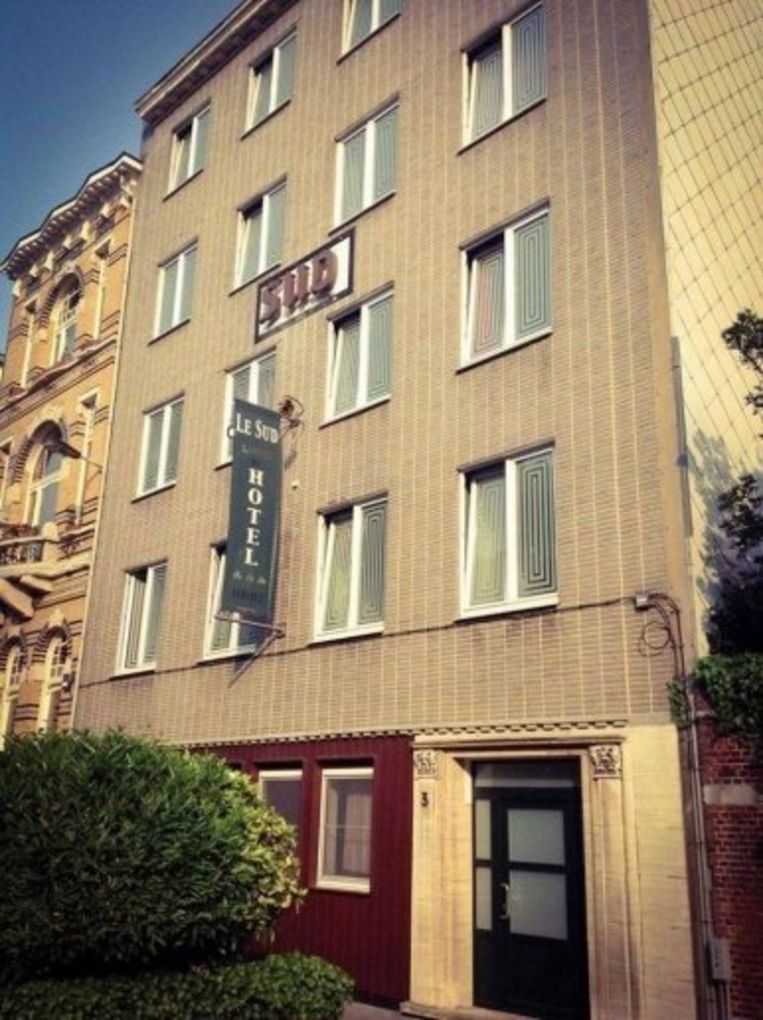 Hotel Le Sud ligt achter het Museum voor Schone Kunsten.