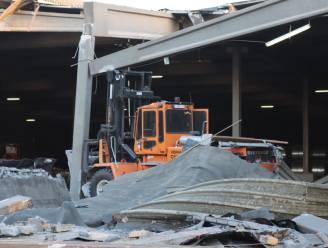 Loods in Antwerpse haven stort deels in na ongeval met heftruck