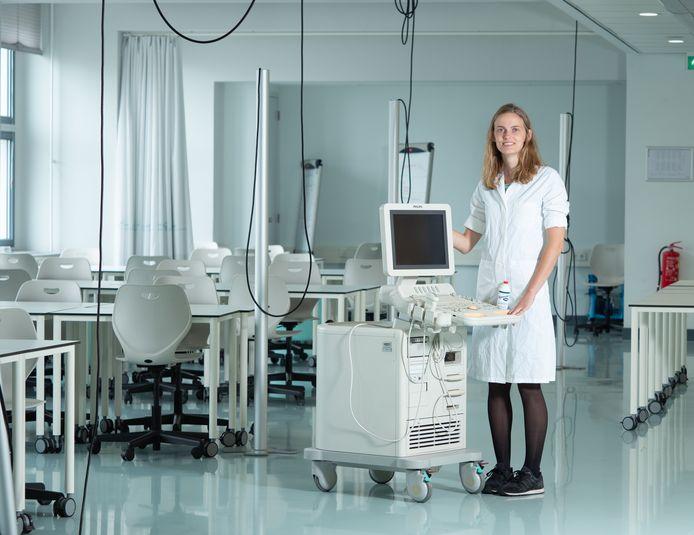 """Marijn van der Graaf: ,,Wij, de klinisch technologen, zijn de schakel tussen de arts en de technici."""" Foto ron jenner"""