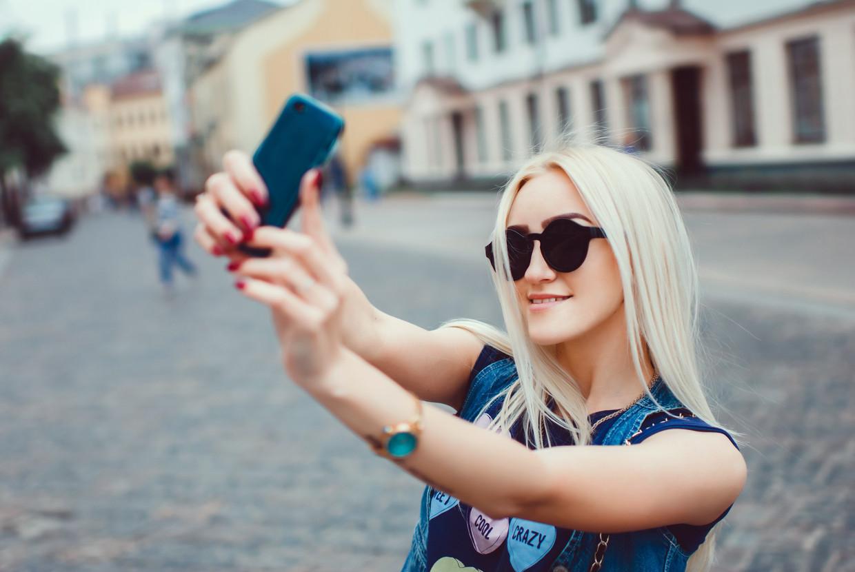 Iedereen kan viral gaan op TikTok. Beeld Shutterstock