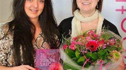 100% suikersalon-award voor Schoonheidsinstituut Beauty & Skin Care Angelica