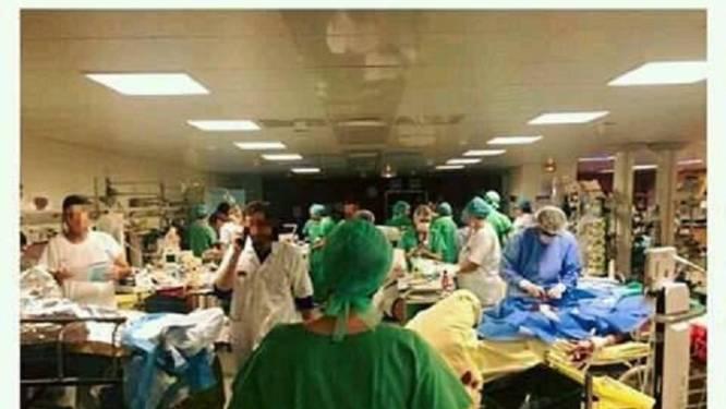 Deze chirurgen en verplegers doen er alles aan om levens te redden