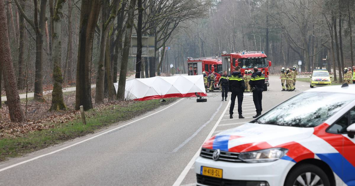 Automobilist overleden na ernstig ongeluk in Heerde.