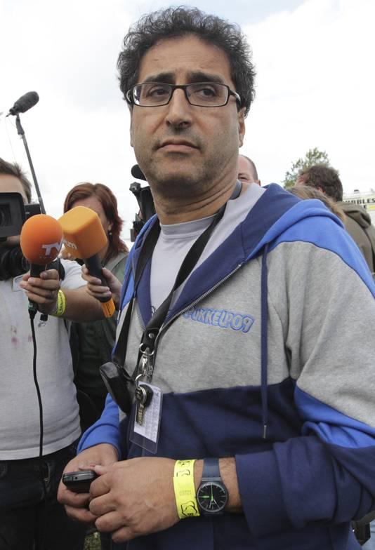 Organisator Chokri Mahassine.