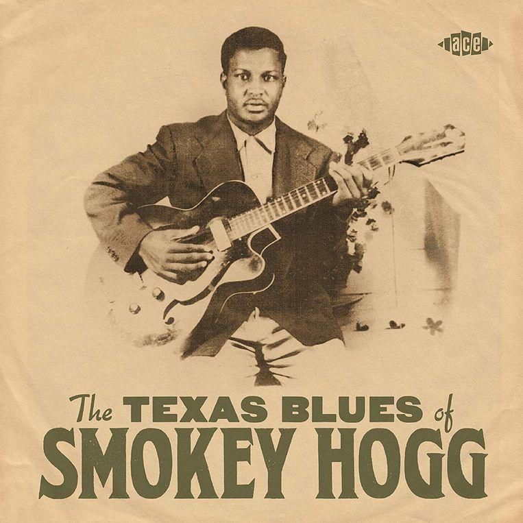 Albumhoes van 'The Texas Blues of Smokey Hogg'.  Beeld