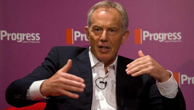 Gewezen Brits premier Tony Blair.