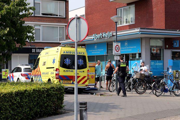 Voetganger gewond na aanrijding Waalwijk.